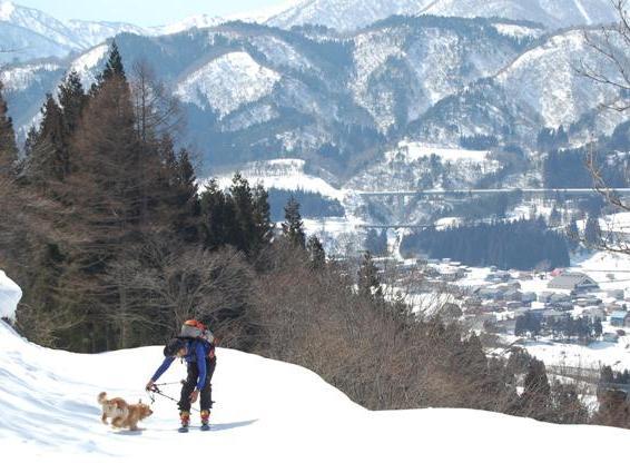 小雪・よしき@雪山