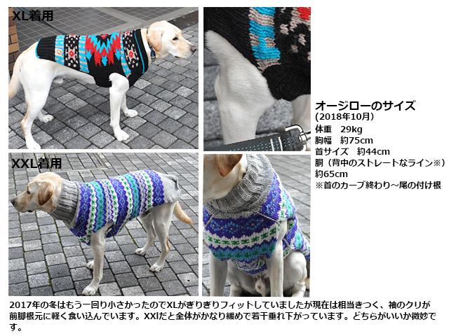 チリードッグ ウールセーター